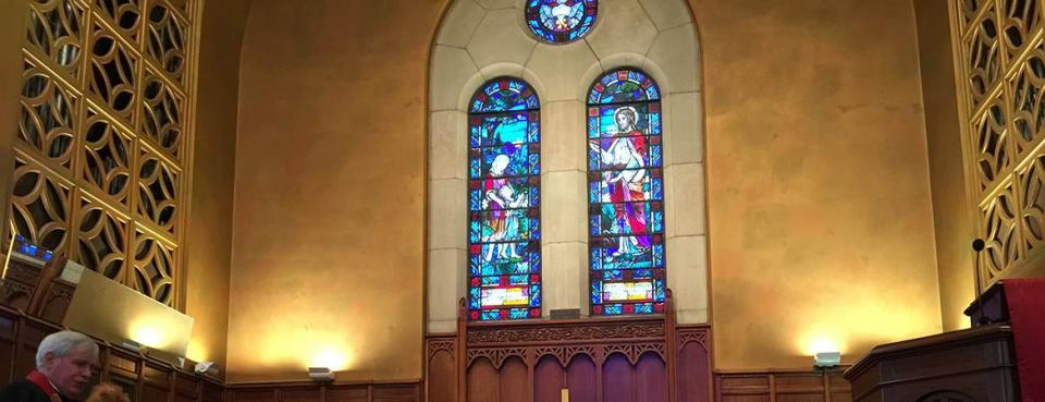 Ginter Park UMC Altar in Richmond